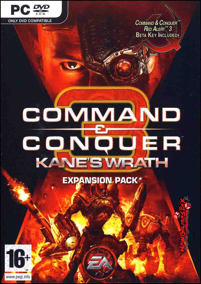 Command and Conquer 3 Kanes Wrath Free Download