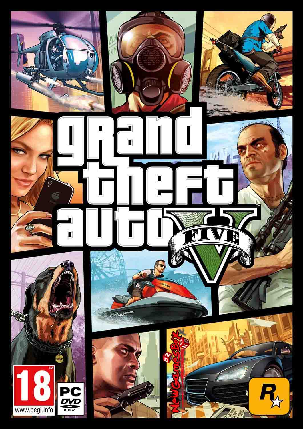GTA 5 Download Free Grand Theft Auto V Full Version