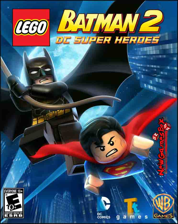Lego Batman 2 DC Super Heroes Free Download Full Setup