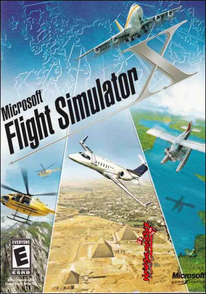 Microsoft Flight Simulator X Download Free Cracked Game