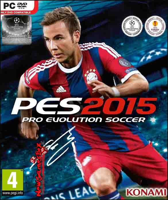 Pro Evolution Soccer 2015 Free Download