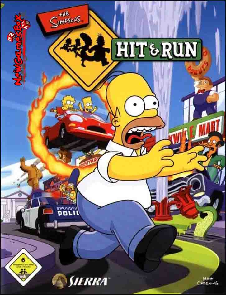 The Simpsons Hit and Run Free Download PC Game Setup