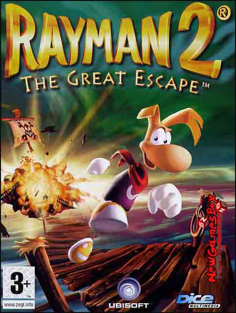 Скачать rayman 2 the great escape.