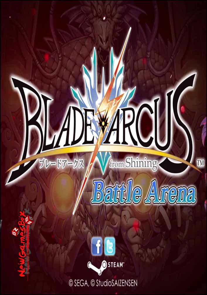 blade arcus from shining battle arena free download setup