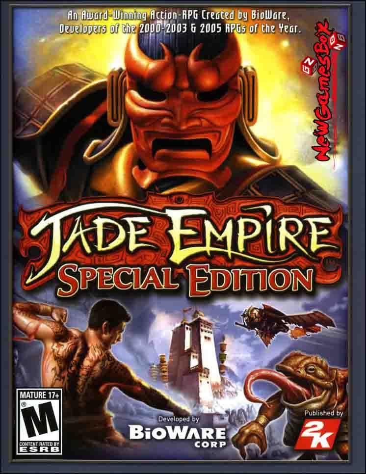 Jade Empire Special Edition Free Download