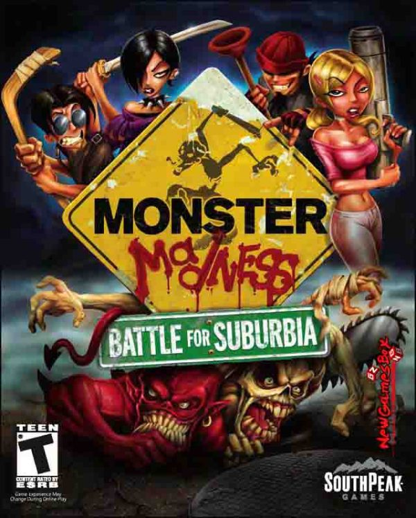 Monster Madness Battle for Suburbia Free Download