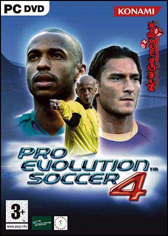 PES 4 Pro Evolution Soccer Free Download
