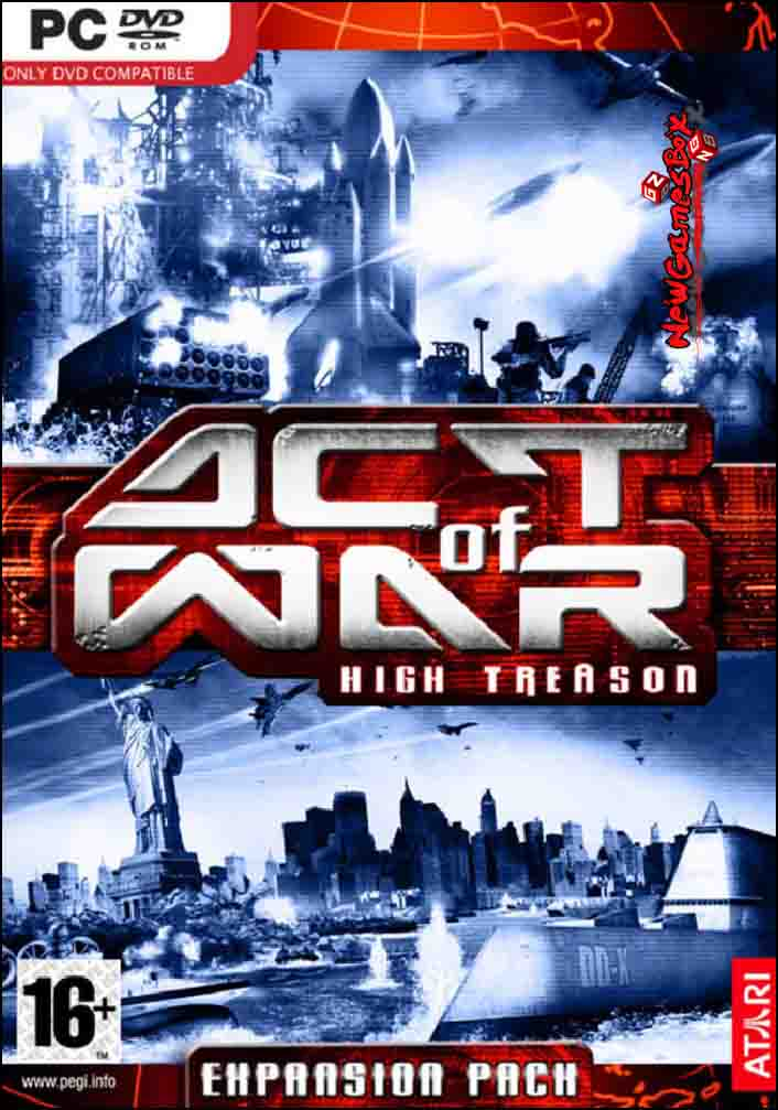 Act of War High Treason Free Download