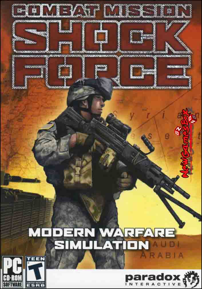 Combat Mission Shock Force Free Download PC Game Setup