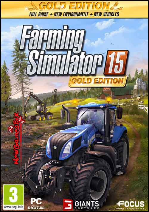 Farming Simulator 15 GOLD Free Download