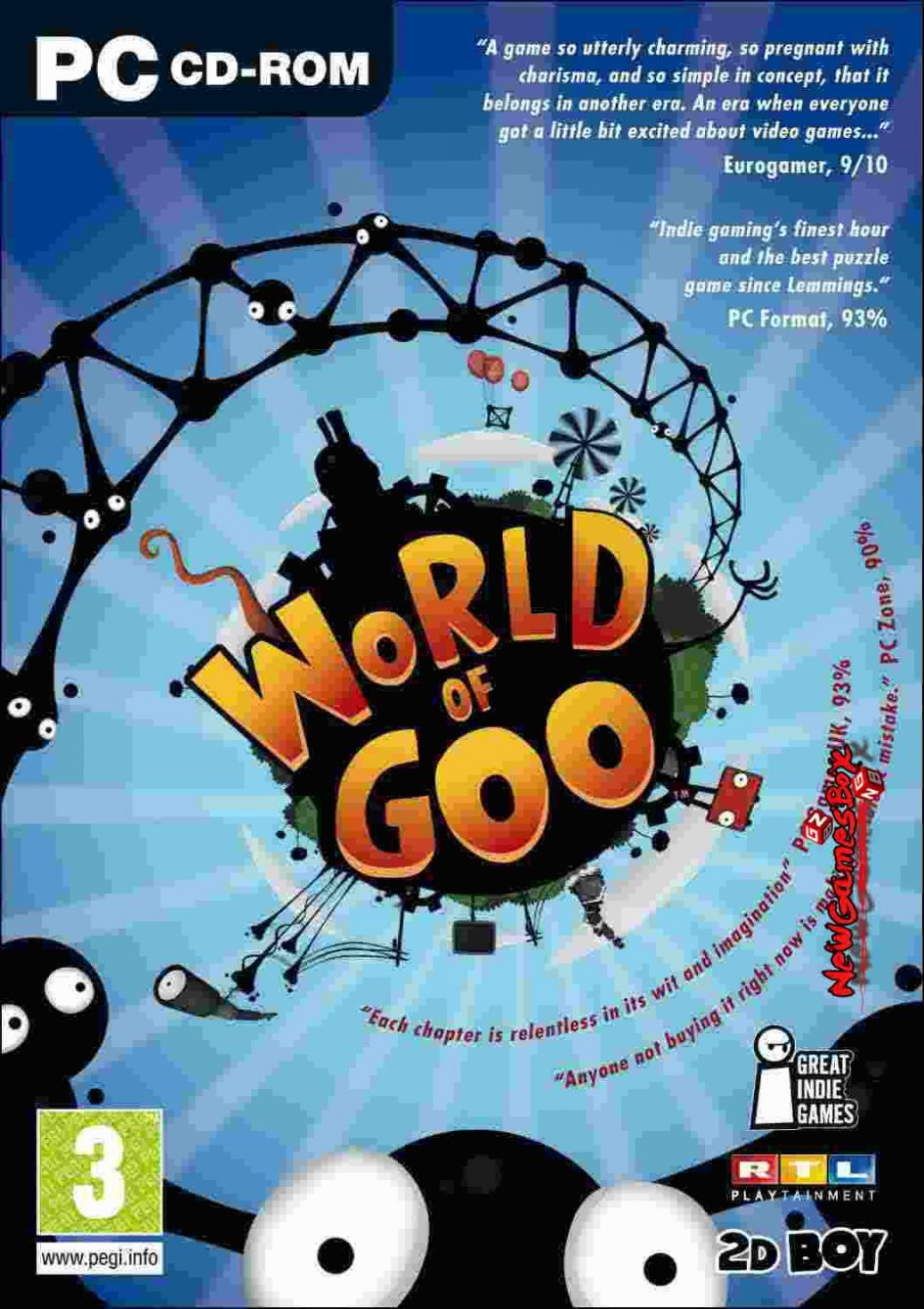 world of goo free download full version pc game setup