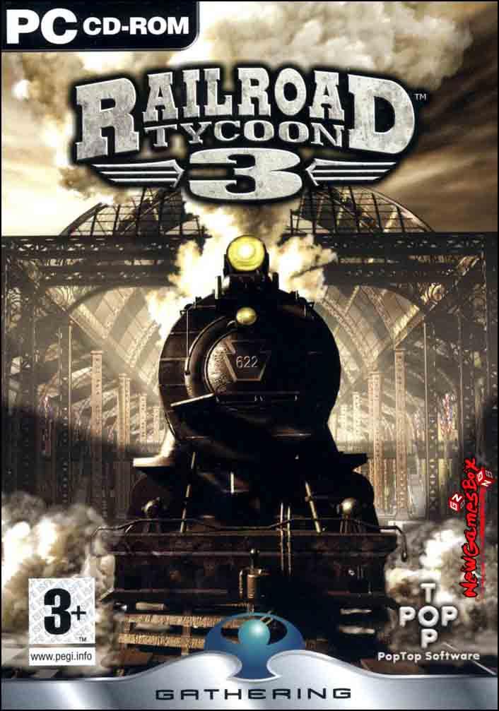 Railroad Tycoon 3 Free Download PC Game Full Version Setup