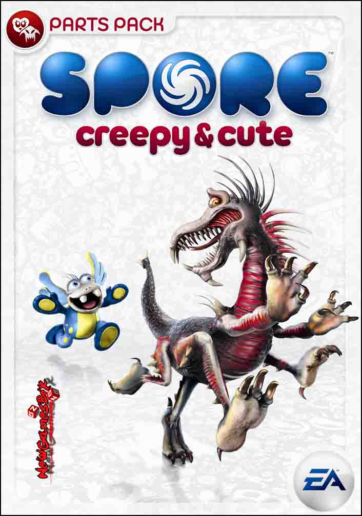 Spore creepy and cute parts pack video spore video.
