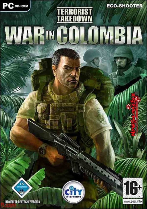 Terrorist Takedown War in Colombia Free Download