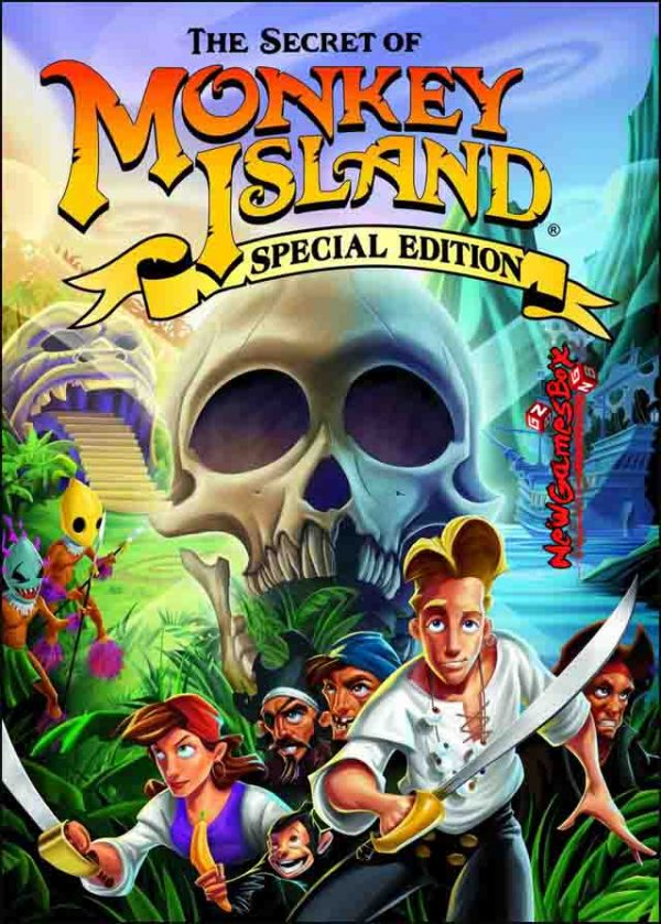 The Secret of Monkey Island Special Edition Free Download