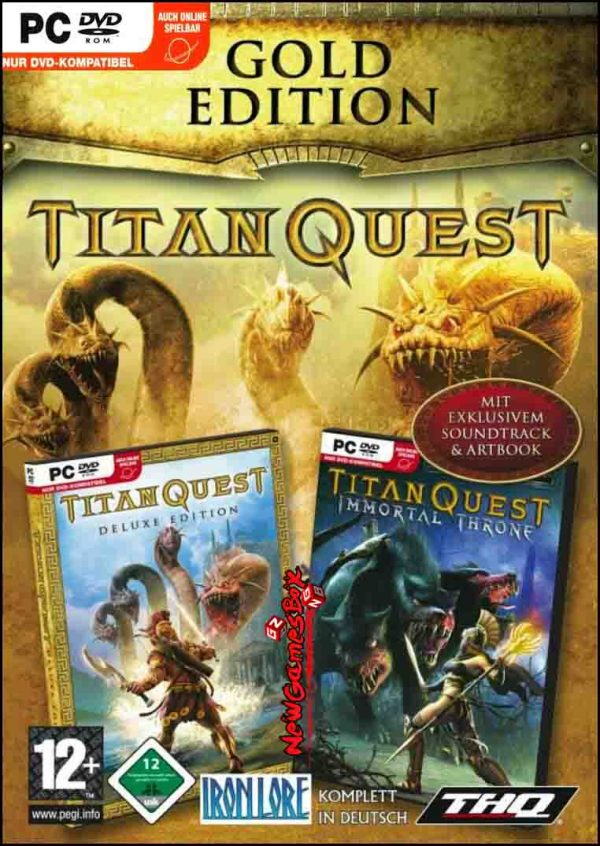 Titan Quest Gold Edition Free Download