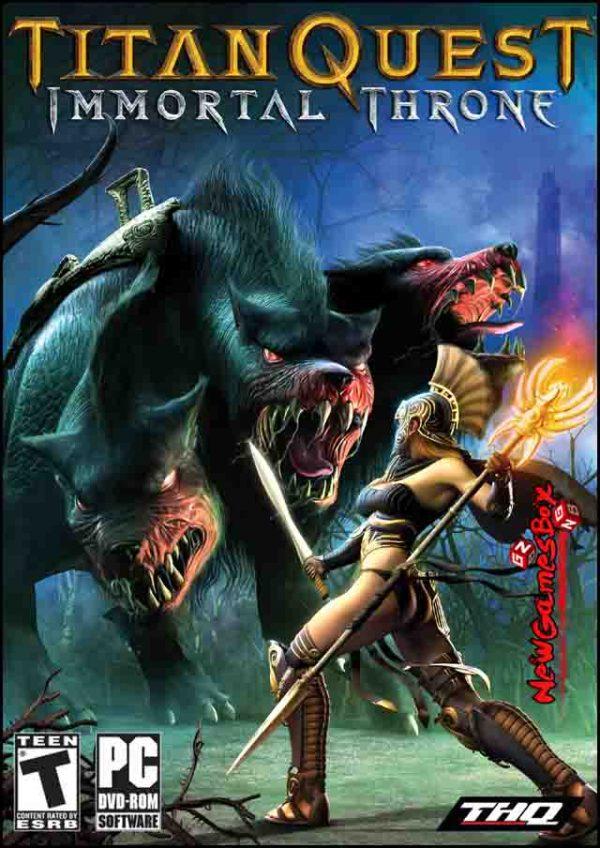 Titan Quest Immortal Throne Free Download