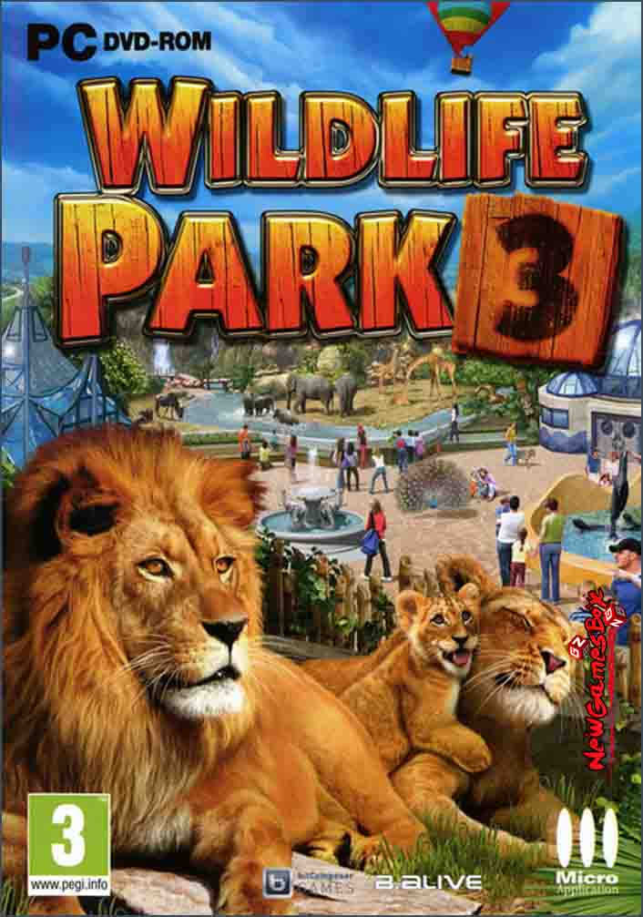 Wildilfe Park 3 Dino Invasion Free Download