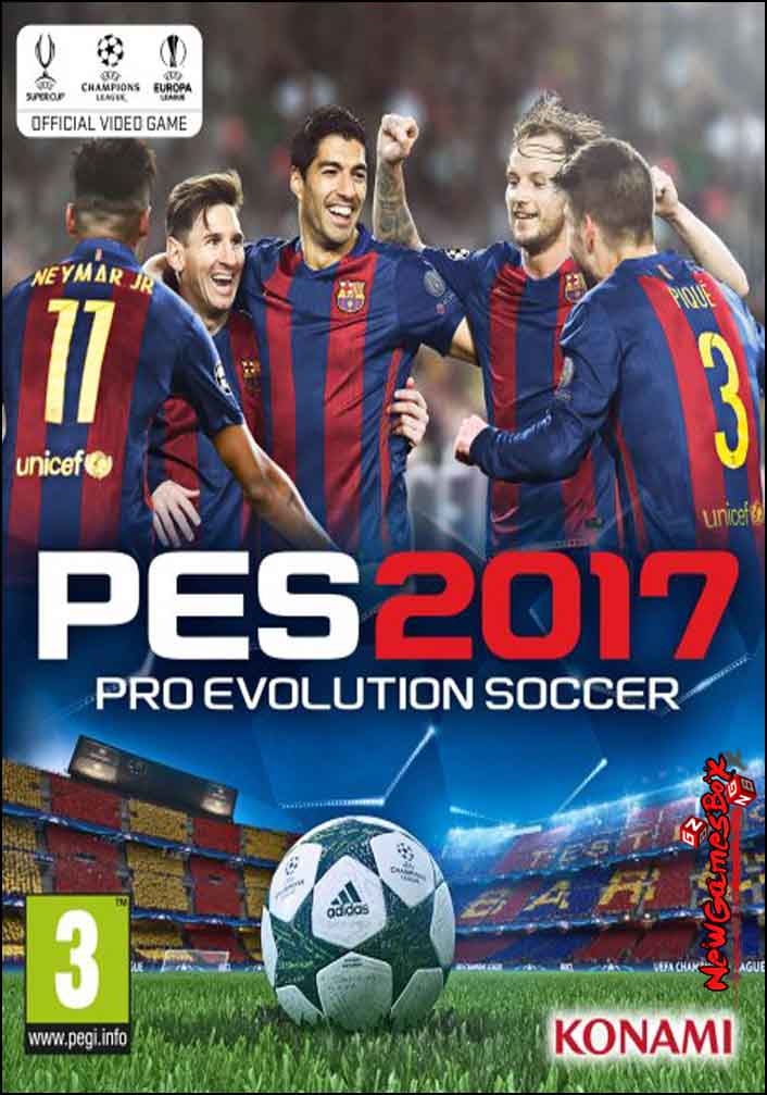 Pro Evolution Soccer 2017 Free Download