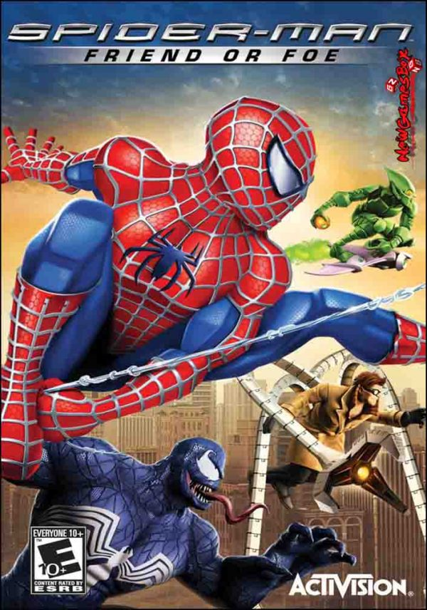 SpiderMan Friend or Foe Free Download