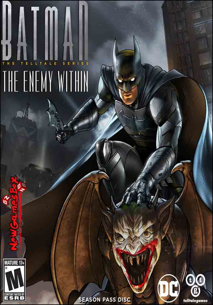 Batman The Enemy Within Free Download Full Version Setup