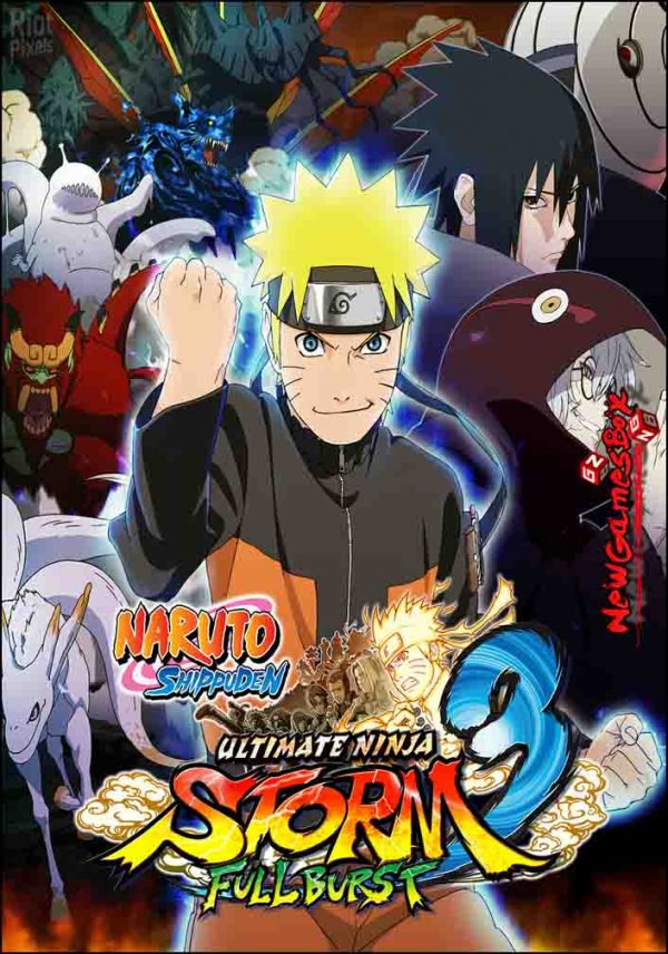 Naruto Shippuden Ultimate Ninja Storm 3 Full Burst HD Free Download