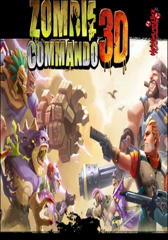 Zombie Commando 3D Free Download