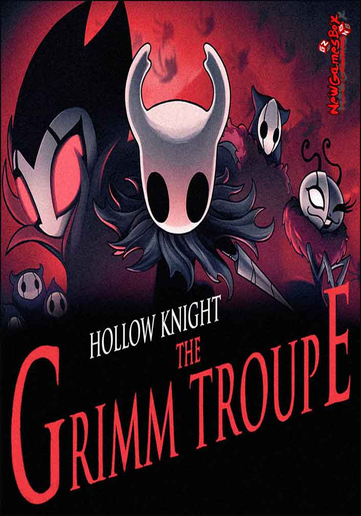 Hollow Knight The Grimm Troupe Free Download PC Setup