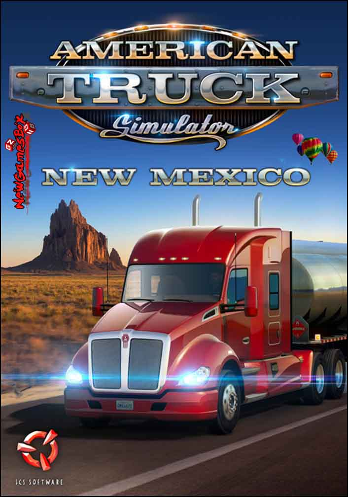 American Truck Simulator New Mexico Free Download Setup