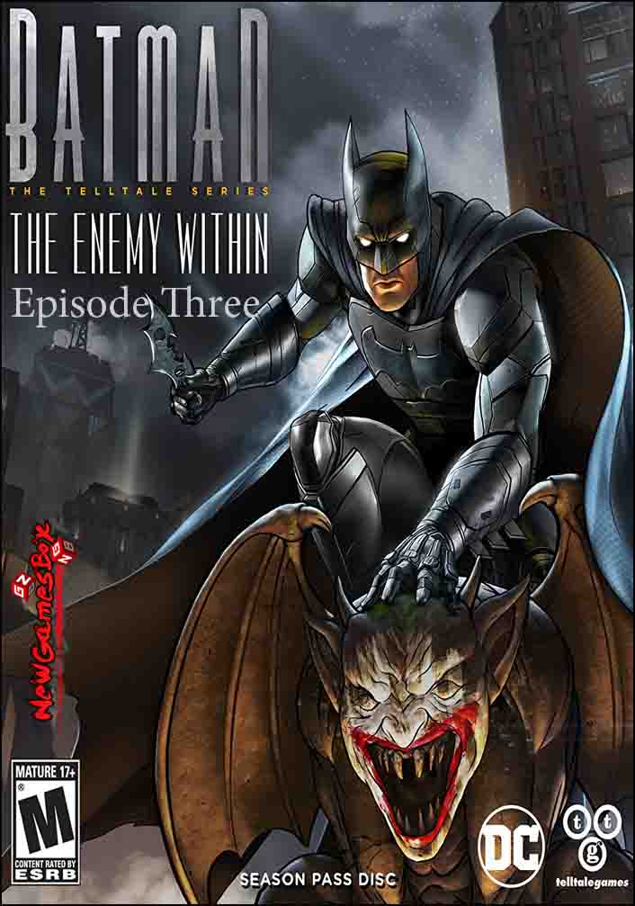 Batman The Enemy Within Episode Three Free Download