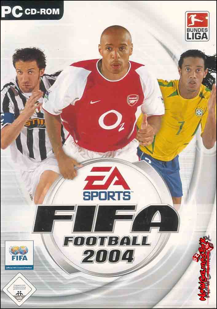 Fifa soccer 2004 (a. K. A. Fifa football 2004) download (2003 sports.