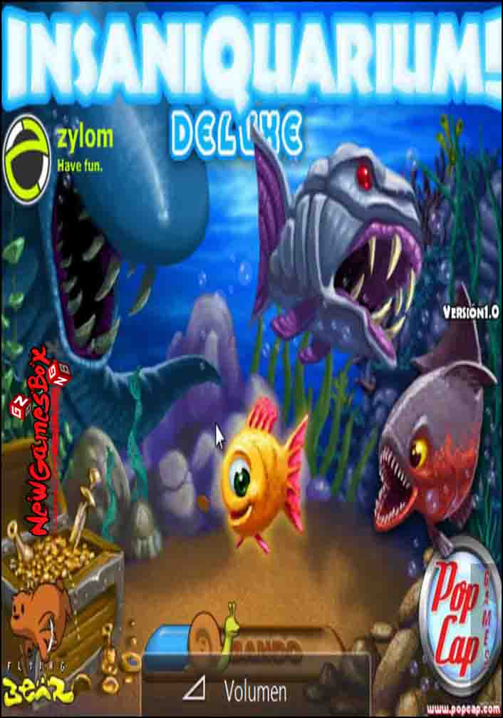 Insaniquarium deluxe free download full pc game setup for Feed and grow fish free download full game