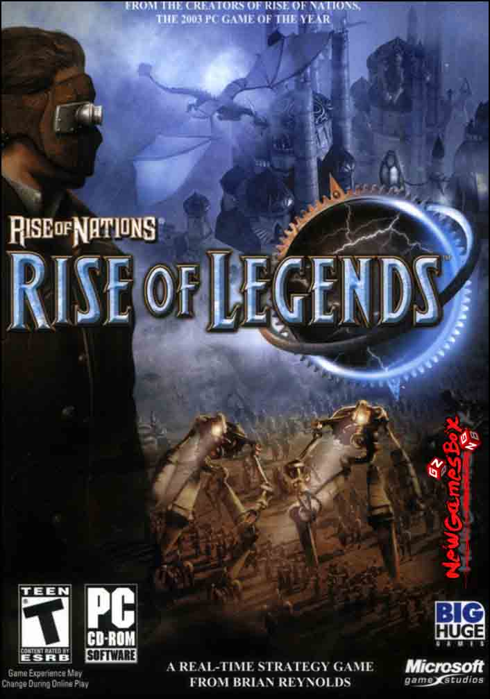 Rise of Nations Rise of Legends Free Download