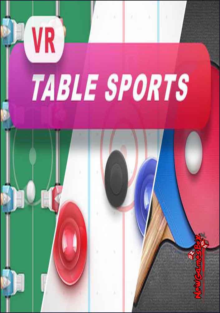 VR Table Sports Free Download PC Setup