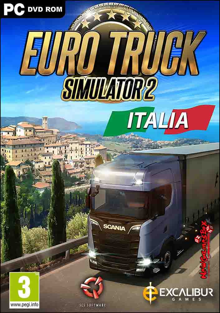 Euro Truck Simulator 2 Italia Free Download PC Setup