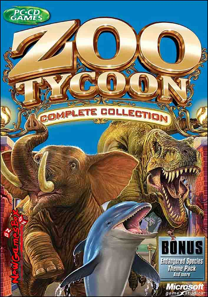 Zoo Tycoon Complete Collection Free Download PC Game Setup