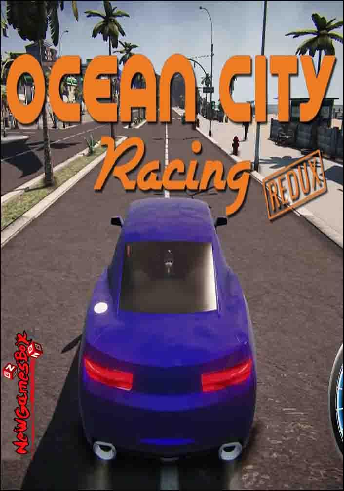 Ocean City Racing Redux Free Download Full PC Game Setup
