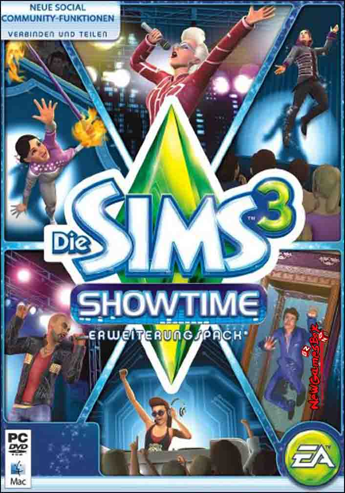 The Sims 3 Showtime Free Download Full PC Game Setup