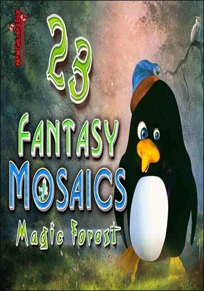Fantasy Mosaics 23: Magic Forest 2018 pc game Img-2