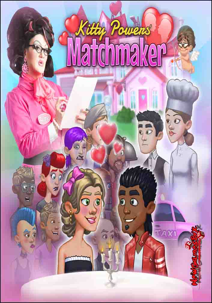 kitty love matchmaker Kitty powers' matchmaker is a fascinatingly unique game compared to others that are currently out there in the scene i mean sure you are kitty's one and only employee in a brand new branch of her dating agency through here, the ' love handle is spun for a plethora of potential conversation topics.