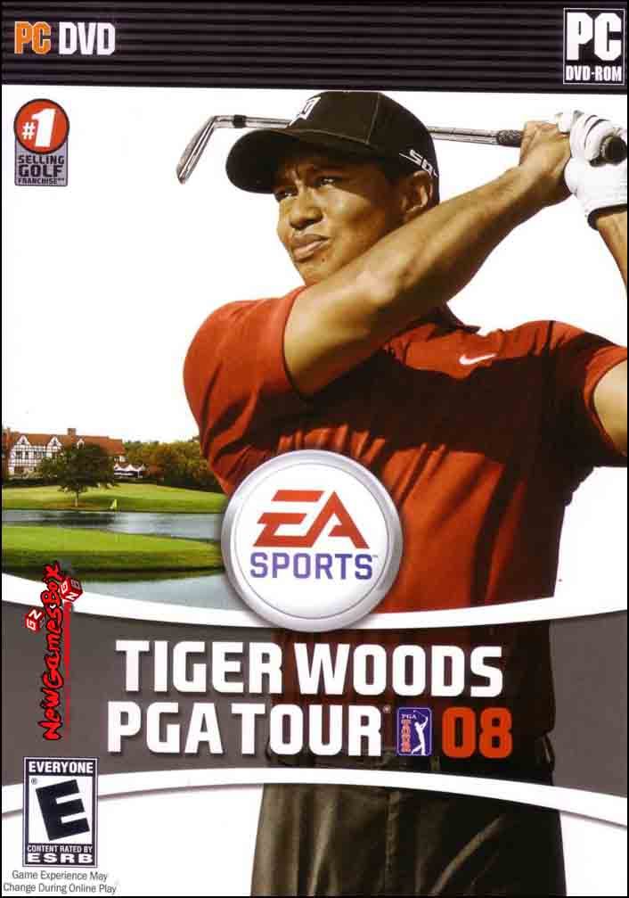 Tiger Woods PGA Tour 08 Free Download