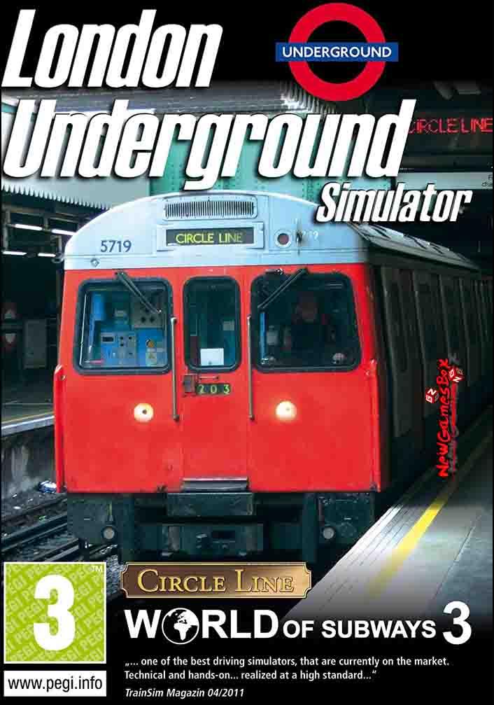 World of Subways 3 London Underground Free Download