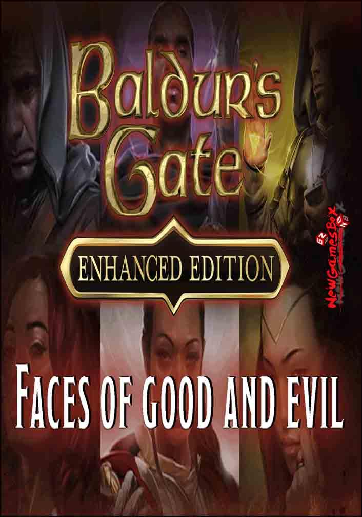 baldurs gate enhanced edition faces of good and evil