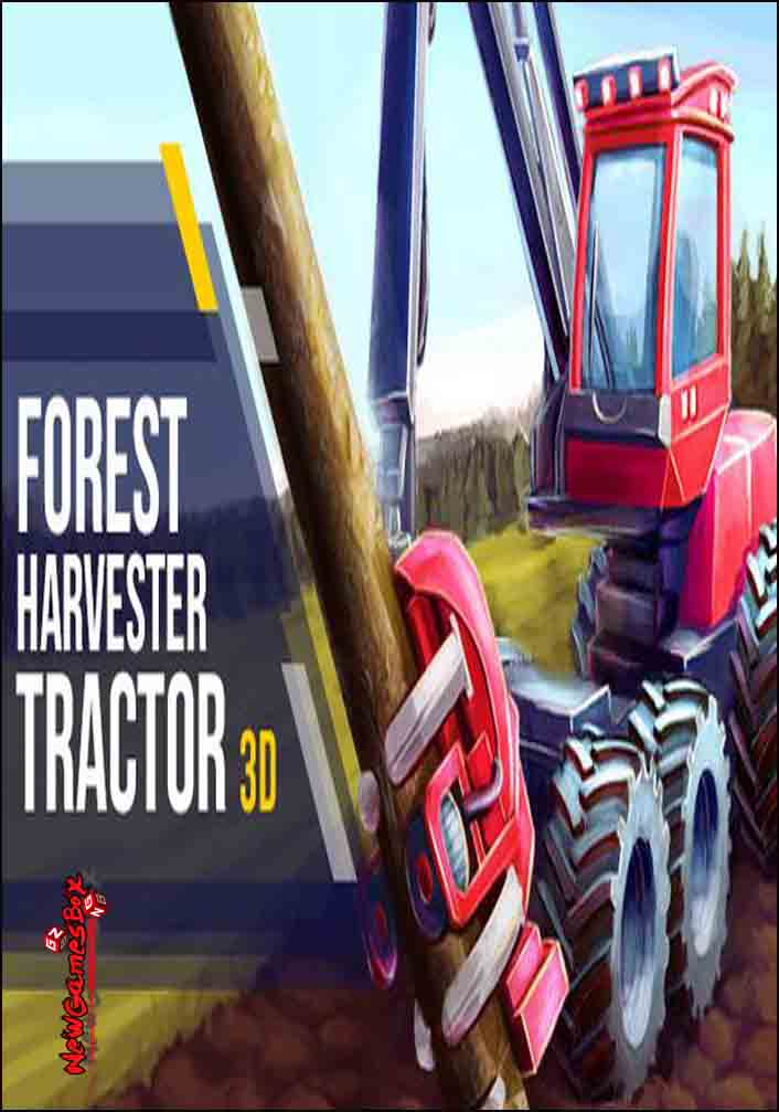 Forest Harvester Tractor 3D Free Download