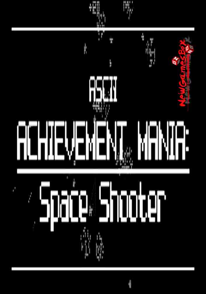 ASCII Achievement Mania Space Shooter Free Download