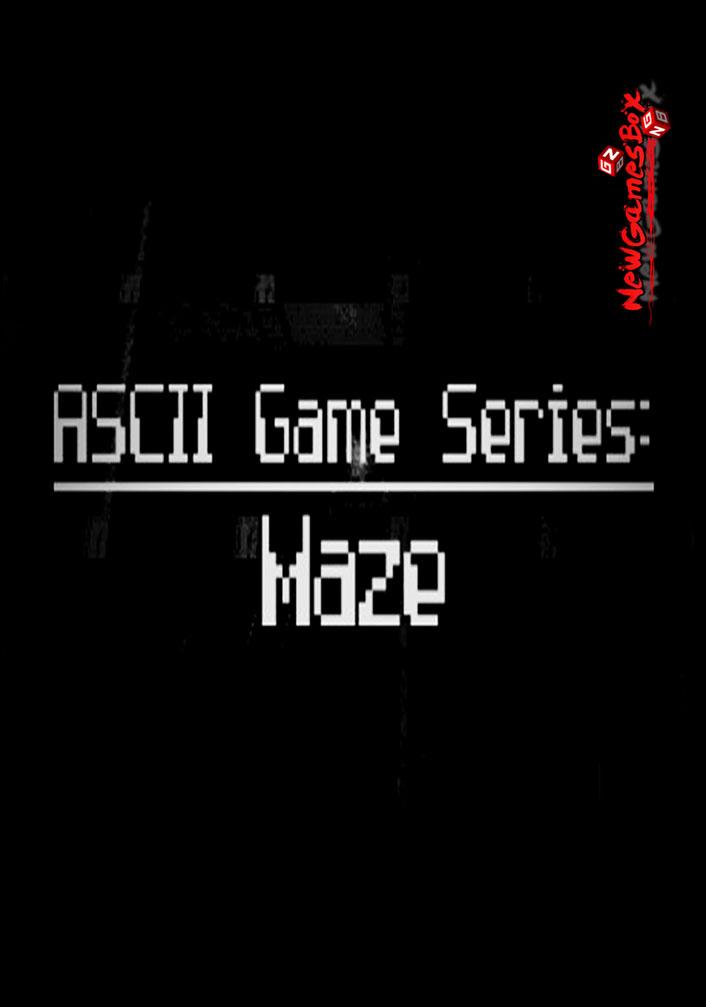 ASCII Game Series Maze Free Download
