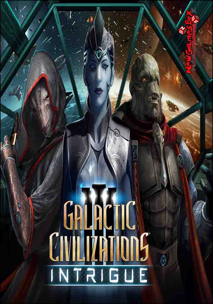 Image result for Galactic Civilizations 3 Intrigue cover pc
