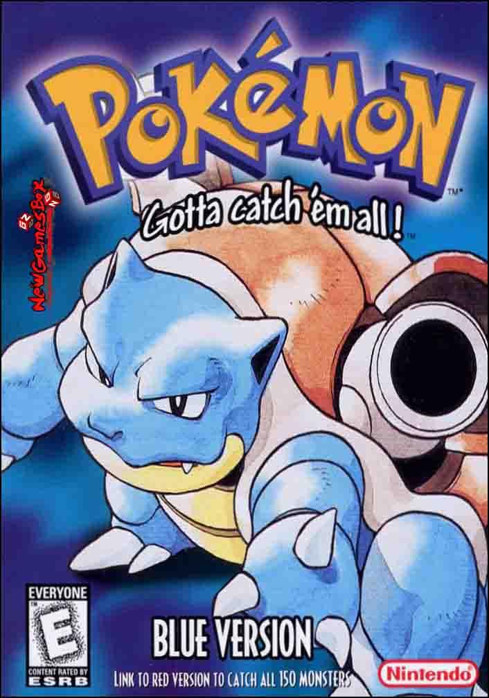 Pokemon Blue Version Download Free Full PC Game Setup