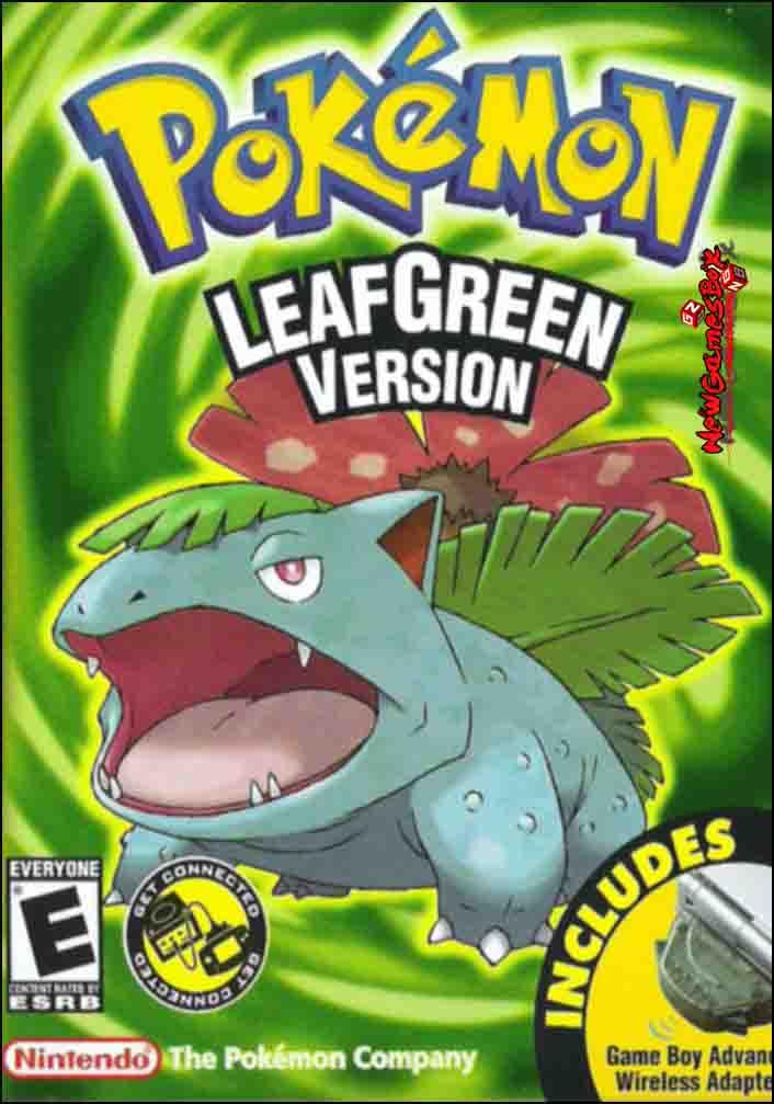 pokemon leaf green rom vba download