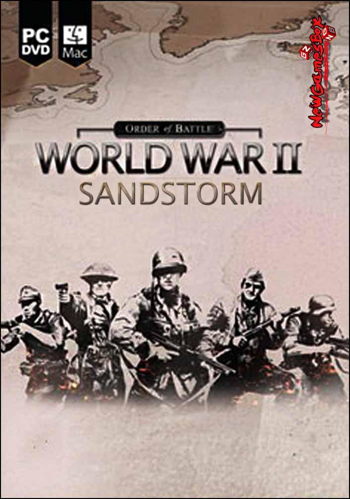 Order Of Battle World War II Sandstorm Free Download